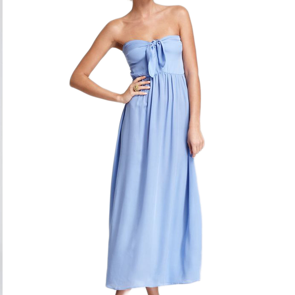 ZINKE Women's Summer Blue Zoe Convertible Cover up Dress $215 NEW