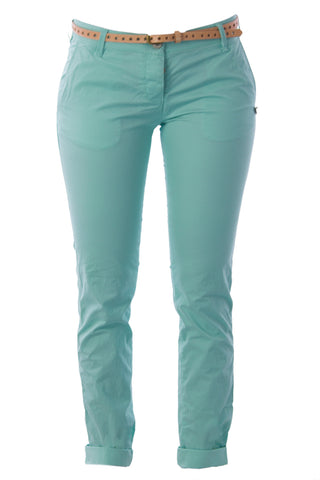 SCOTCH & SODA MAISON SCOTCH Mint Star Belted Chinos 1321.01.80894 $125 NWT