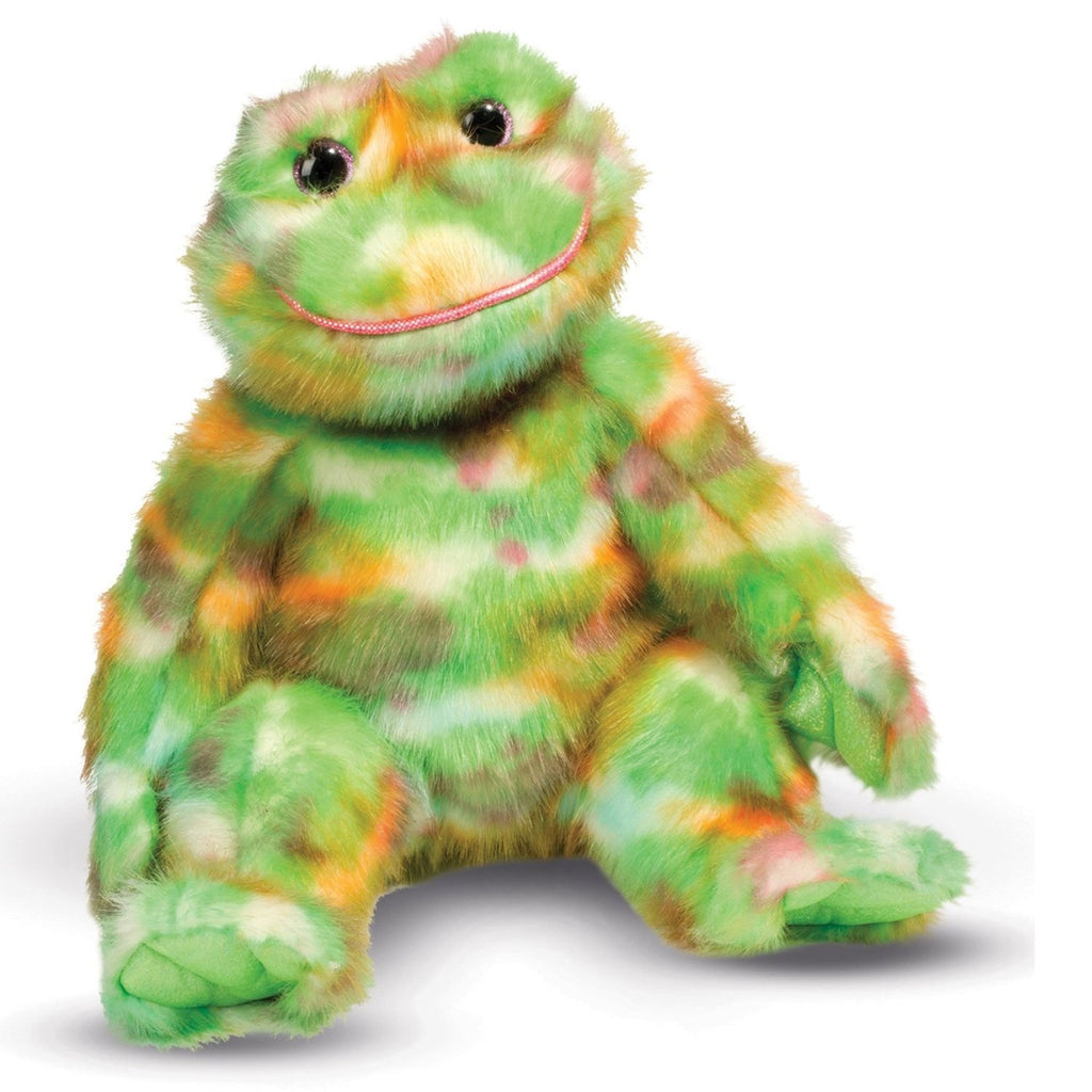 "DOUGLAS Cuddle Toys 24"" Fuji Frog Stuffed Animal - 4180 NEW"