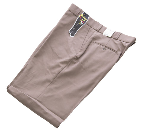 FLYING CROSS Women's Tan UNHEMMED Fashion Fit Uniform Pants #42293 NEW