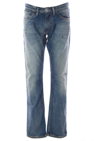 BLUE BLOOD Men's AIM ABD Distressed Denim Jeans MS08D01 $250 NWT