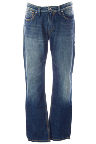 BLUE BLOOD Men's AIM CWS Distressed Denim Jeans MFOFS0765 $250 NWT