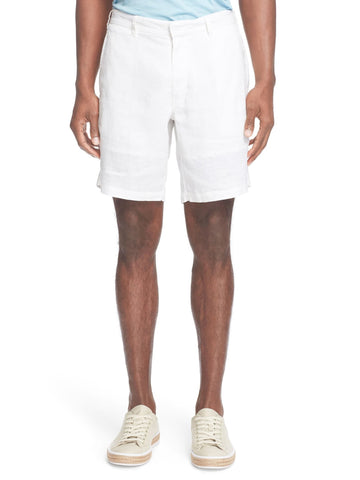 ONIA Men's White Linen Abe Shorts MS14LC $145 NWT