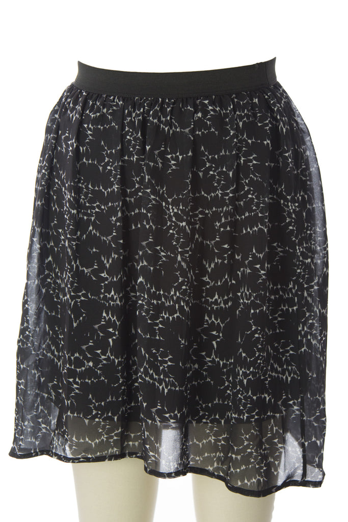 SURFACE TO AIR Women's Black Lightning Ada Skirt $230 NEW