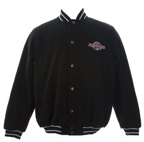 GIII Men's Black 2013 MLB All Star Game Varsity Jacket 6A5WOB3D $170 NEW