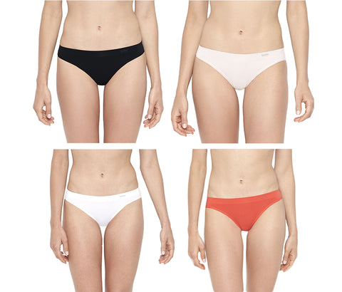 BeMe NYC Women's Invisibles Bikini Panties BMSL03 $17 NWT
