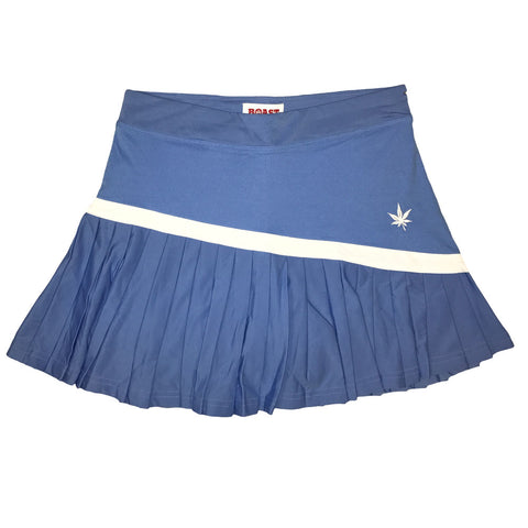BOAST Women's Carolina Blue Skinny Pleat Tennis Skirt $72 NEW