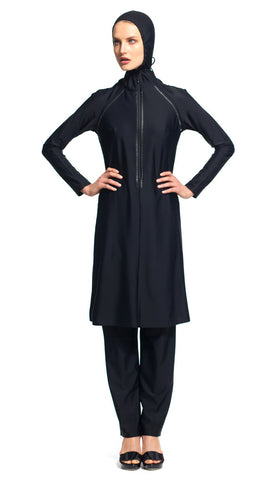 MODEST SEA Brooke 2-Pc Full Coverage Swimsuit Burkini 11016 $290 NEW