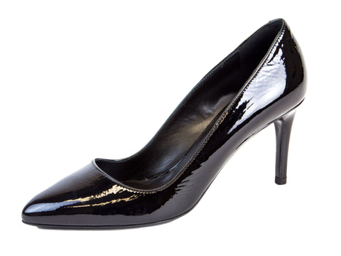 MAX MARA Women's Carezza Black Patent Leather Pumps US 7 / IT 37 $515 NIB
