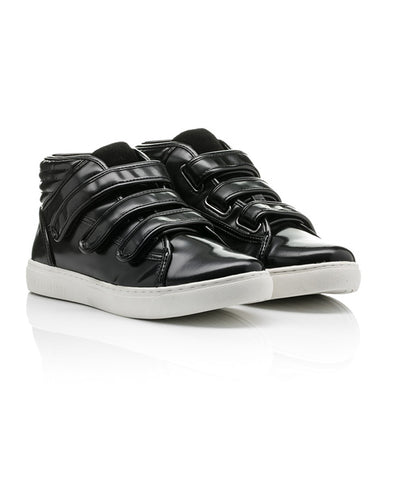 RELIGION Women's Black Control Trainer High Top Sneakers $190 NIB