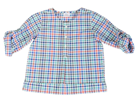 EGG BY SUSAN LAZAR Baby Boy's Multi Nero Tab Shirt P5CO1993 $49 NEW