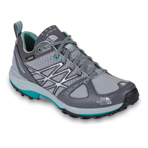 The North Face Womens Jaiden Green/Gray Ultra Fastpack GTX Hiking Shoes $140 NEW