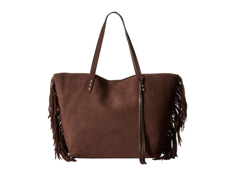 REBECCA MINKOFF Bracken Fringe Medium Unlined Tote Bag $325 NEW
