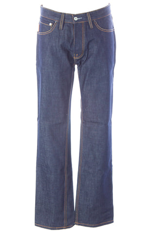 BLUE BLOOD Men's Form Dry Cobalt Denim Button Fly Jeans MW07D02 $250 NWT