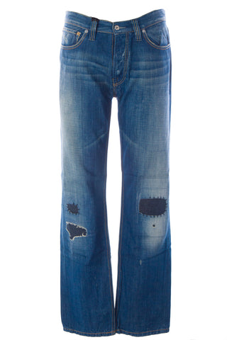 BLUE BLOOD Men's Form LH Denim Button Fly Jeans MFOFS0753 $250 NWT