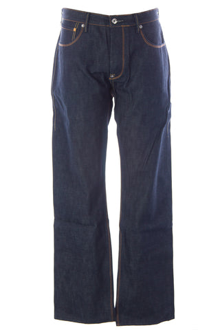 BLUE BLOOD Men's Form Paper Silk Selvedge Denim Jeans MFOFS0770 $250 NWT