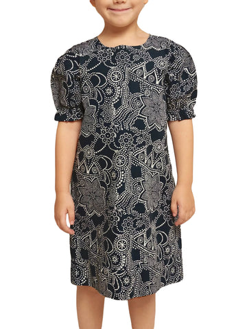 ROBERTA ROLLER RABBIT Girls Indigo Dihn Lunara Dress 10 Years $75 NEW