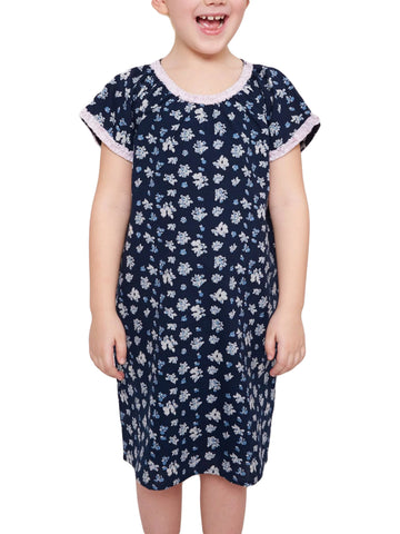ROBERTA ROLLER RABBIT Little Girls Navy Blue Jessica Akari Dress 2 Years $55 NEW