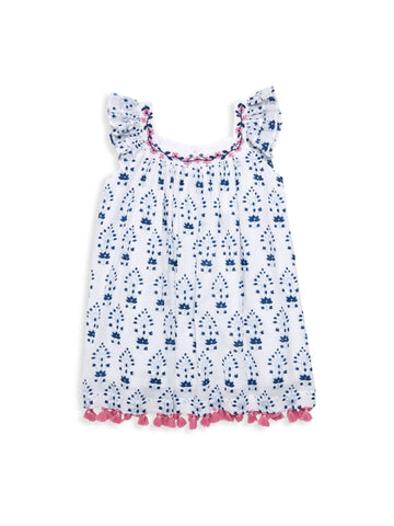 ROBERTA ROLLER RABBIT Girls Cloud Tizi Catia Dress 4 Years $85 NEW