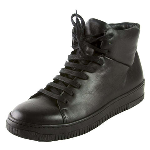 J. LINDEBERG Men's Black High Top Sneakers $225 NWOB