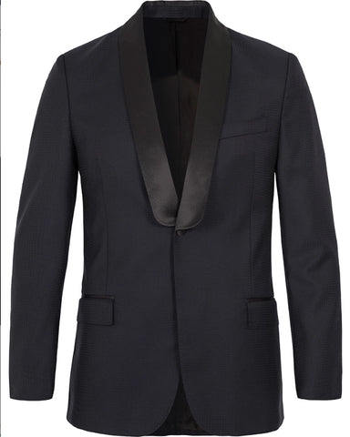 J. LINDEBERG Men's Dark Navy Hopper SC Soft Fancy Tux Jacket $695 NWT