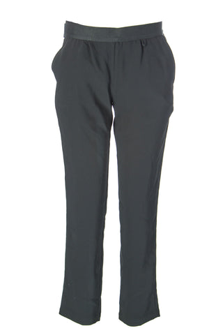 SURFACE TO AIR Women's Black Jimmy Trousers Sz 36 $266 NEW