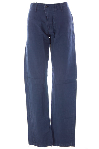 BLUE BLOOD Men's Journey French Navy Cotton Blend Pants MBLS0759 $250 NWT