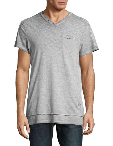 Buffalo David Bitton Men's Ardent Combo Kiyo Henley T-Shirt BM19495 $39 NEW