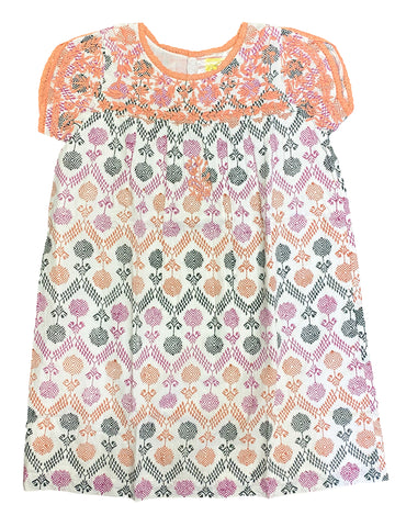 ROBERTA ROLLER RABBIT Girl's Rose Lona Sophia Dress $75 NEW