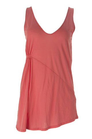 VELVET by Graham & Spencer Women's Sorbet Side Ruched Accent Top S $95 NEW
