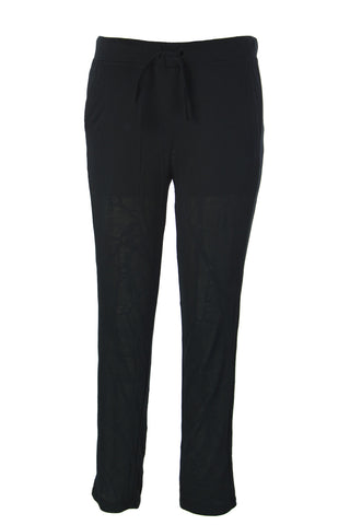 SURFACE TO AIR Women's Black Marble Jogging Pants $180 NEW
