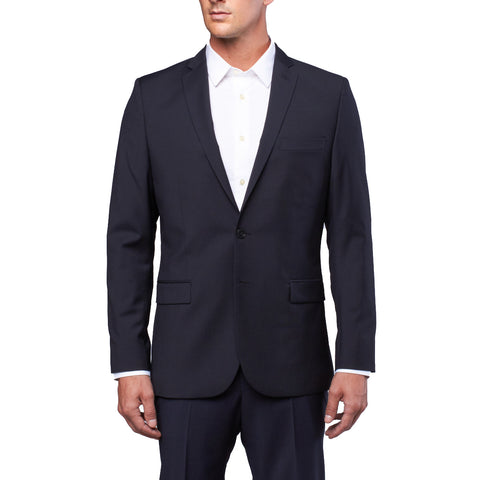 J. LINDEBERG Men's Dark Navy Mick Dressed Wool Blazer $595 NWT