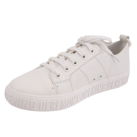 OPENING CEREMONY Women's White Mina Logo Sneakers NIB