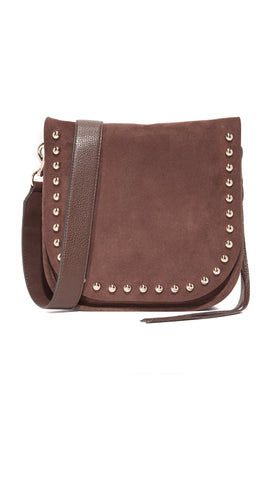 REBECCA MINKOFF Bracken North South Unlined Messenger $295 NEW