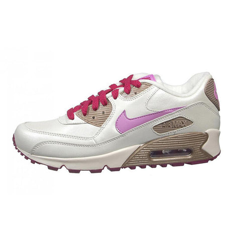 NIKE Big Kid Girls Sail/Violet/Zinc Air Max 90 CL Sneakers 312153 $90 NIB