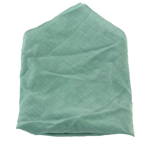 J. LINDEBERG Men's Green Cotton Pocket Square OS $40 NWT