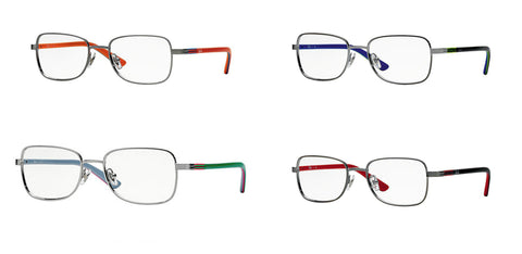 Ray-Ban Kid's Rectangular Metal Eyeglass Frames RB1036 $100 NEW
