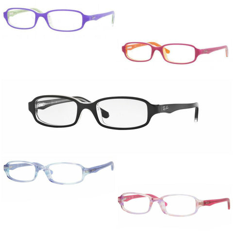 Ray-Ban Kid's Rectangular Acetate Eyeglass Frames RB1521 $90 NEW