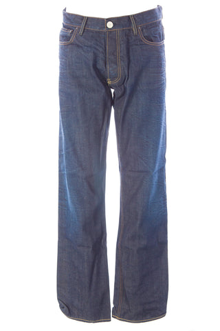 BLUE BLOOD Men's Roxy Clean A Denim Button Fly Jeans MAVS0716 $250 NWT