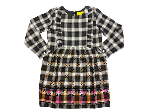 ROBERTA ROLLER RABBIT Girl's Rupi Border Cyril Dress $75 NEW