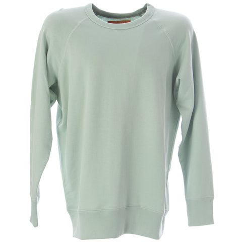 OLASUL Men's Moss Reversible Crewneck Sweatshirt $130 NEW