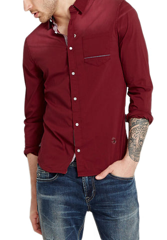 Buffalo David Bitton Men's Nori Savans Button-up Shirt BM19392 $69 NEW