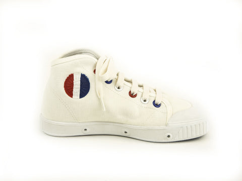 SPRING COURT Little Kid Boys Canvas BE1 Flag Shoes