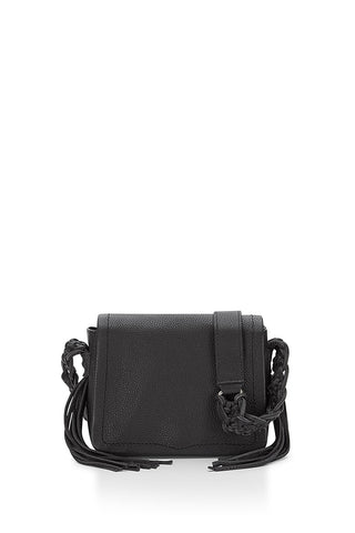 REBECCA MINKOFF Black Small Wendy Crossbody Bag $295 NEW