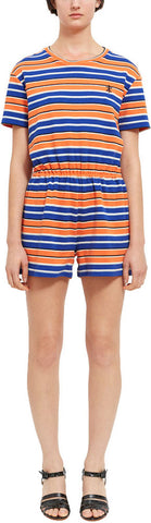 OPENING CEREMONY Women's Clementine Stripe Short Sleeve Romper $295 NWT