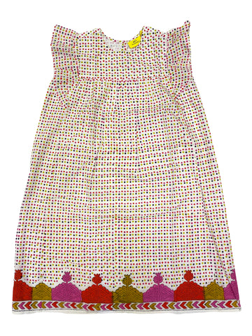 ROBERTA ROLLER RABBIT Girl's Pink Tarou Dots Lyle Dress 10 Years $75 NEW
