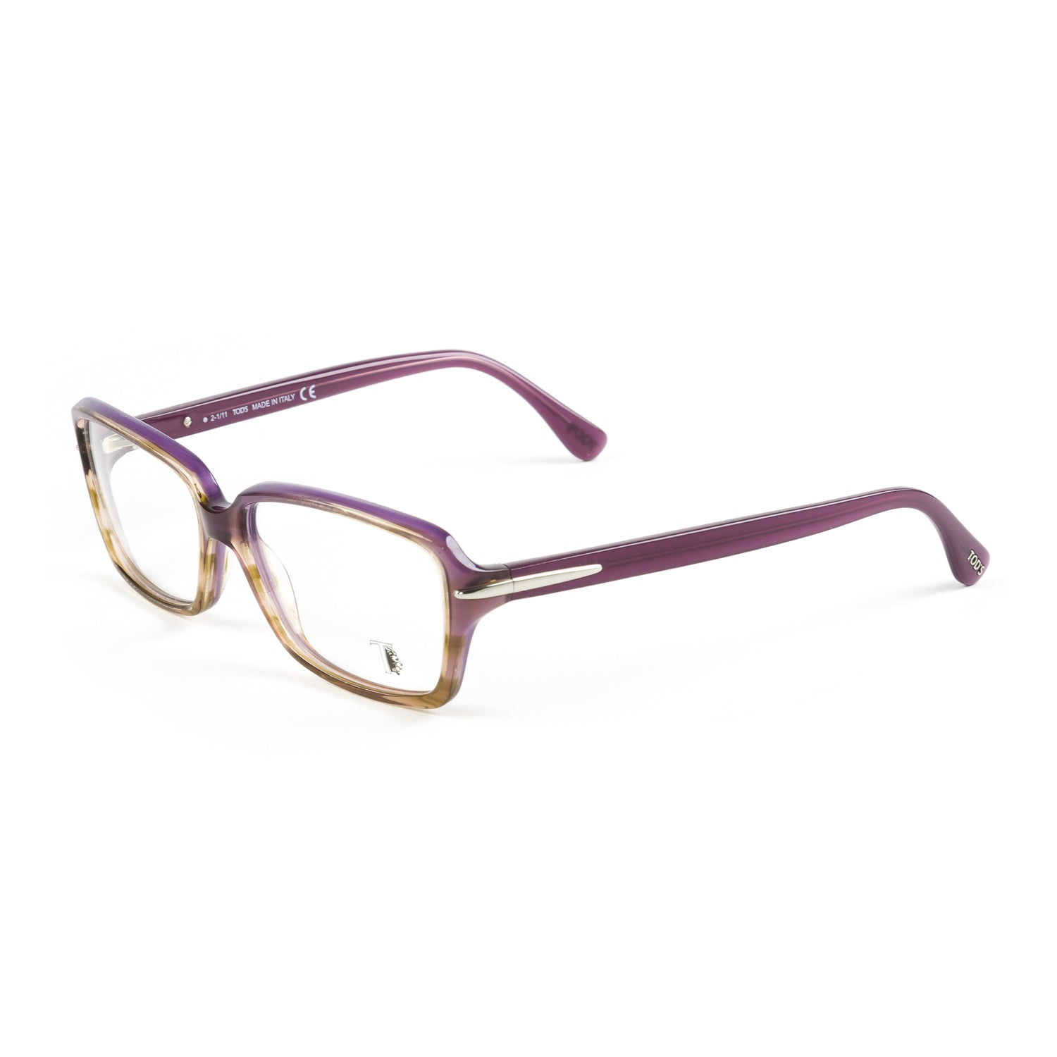 8ec2d9423b TOD S Purple Ombre Rectangular Eyeglass Frames TO5047-083 NEW – Walk Into  Fashion