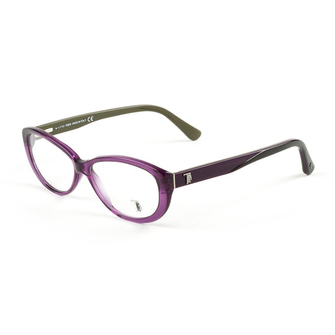 TOD'S Violet/Gradient Smoke Oval Eyeglass Frames TO5101-83B NEW