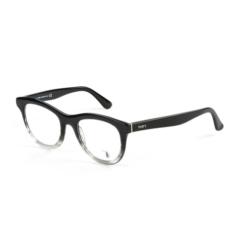 TOD'S Black Ombre Vintage Full Rim Eyeglass Frames TO5112-005 NEW
