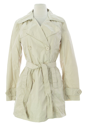 ADD Women's Sand Belted Tunic Polyamide Jacket UAW006 $250 NEW